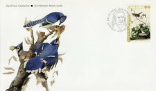 CANADA #2040 80¢ JOHN JAMES AUDUBON'S BIRDS LINCOLINS SPARROW FIRST DAY COVER