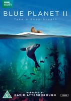 Blue Planet II DVD (2017) David Attenborough cert U 3 discs ***NEW***