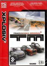 TrackMania (PC Sim Game) Track Building, Puzzles, Racing