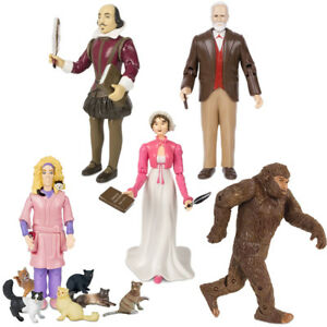 Archie McPhee Historical Action Figures (Choose Person) Freud Shakespeare