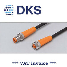 IFM  EVC314 M8 Straight/Straight 4 Pin 5m PUR Sensor Extension Cable 000295