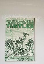 Eastman and Lairds Teenage Mutant Ninja Turtles #4 1985 Mirage 1st Print
