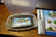 Authentic Game Boy Advance Super Mario World: Super Mario Advance 2 Game &Manual