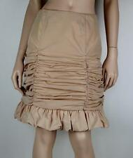 Nylon Cocktail Solid Skirts for Women