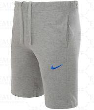Mens Nike 3d Fleece Jog Long Shorts Knee Length Shorts With Pockets Grey M