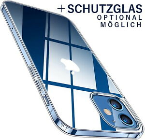 Hülle für iPhone 12 / 12 PRO / MINI / MAX PREMIUM Ultra SLIM  Clear Case Silicon