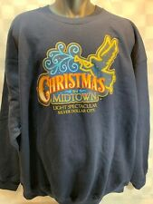 Christmas Midtown Light Spectacular SILVER DOLLAR CITY Sweat Shirt Size 2XL NEW