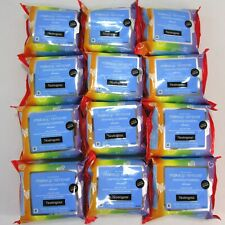 PRIDE EDITION! LOT OF 12 Neutrogena Make-Up Remover 25 Towelettes REFILL PACKS