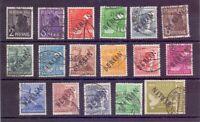 Berlin 1948 - MiNr. 1/17 gestempelt Wesentliches geprüft - Michel 515,00 € (669)