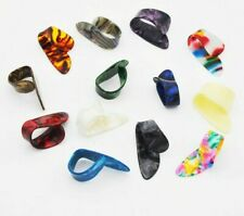 Finger Pick For Acoustic Electric Guitar Multicolor Celluloid Mediator Thumbpick