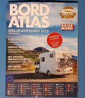 Bord Atlas Stellplatzführer 2019 ACHTUNG : nur Europa UNGELESEN 1A abs.TOP