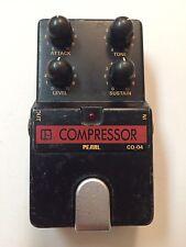 Pearl CO-04 Compressor Sustainer Rare Vintage Guitar Effect Pedal MIJ Japan