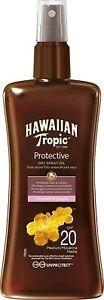 Hawaiian Tropic Protective Dry Oil Spray Coconut & Guava SPF20 - 200ml