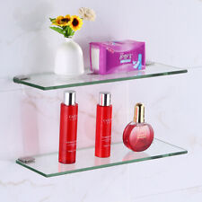 Bathroom Shower Shelf Glass Storage Racks Soap Holders Fashion Wall mounted New