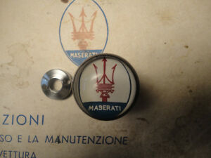 Maserati 3500 3500GT 3500GTI , two lengths! Sebring 5 speed shift knob and nut