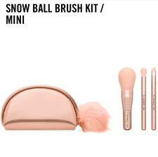 MAC Cosmetics Snowball Brush Kit/Mini~$92 (Value)~Rose Gold~Limited Edition~NIB