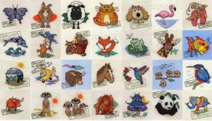 Mouseloft Mini Cross Stitch Kits - Stitchlets - #2 - **15% Off For 3 or More**