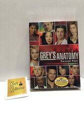 Greys Anatomy - The Complete Fourth Season (DVD, 2008, 5-Disc Set)