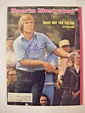 BEN CRENSHAW signed 1974 Sports Illustrated golf magazine AUTO TEXAS LONGHORNS