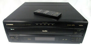 Pioneer CLD-M301 LD Laser Disc & 5-Disc CD Player Multi-Play w/ Remote - Tested