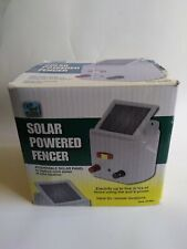 Solar Powered Electric Fencer Charger Farm Horses & Cattle Adjustable Control