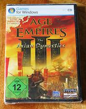 In Deutsche (German) - Age of Empires III (3) The Asian Dynasties Exp. Pack New