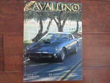 VINTAGE CAVALLINO FERRARI MAGAZINE NUMBER 39 June 1987