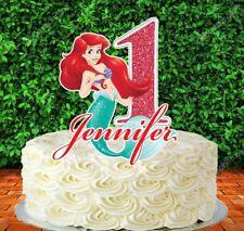 Princess Ariel Cake Topper (PERSONALIZED)
