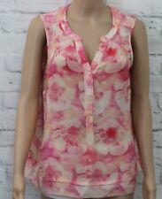 Nougat London pink pattern top lovely detail size 12  b 685