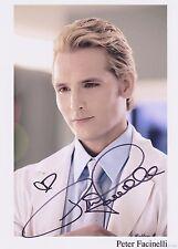 Peter Facinelli Signed PP Autograph Print Hologram Cert Twilight Carlisle Cullen