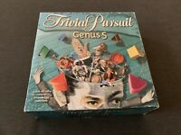 Trivial Pursuit Genus 5 Board Game Complete