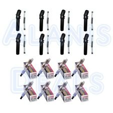 Set of 8 Motorcraft Spark Plugs + 8 Ignition Coil Boots For Ford Mercury 97-16