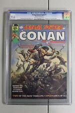 RARE Savage Sword of Conan 1 CGC 9.6 NM+ MINT HTF NICE the Barbarian Key Book