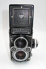 *BEAUTY* ROLLEIFLEX 3.5F TLR MEDIUM FORMAT CAMERA. RECENTLY SERVICED. GREAT COND