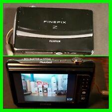 Fujifilm FinePix Z Series Z90 14.2MP Digital Camera Black w/Extras Leather Case