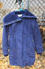 BROOKLYN INDUSTRIES Blue Fall Winter Jacket Coat Sz XS