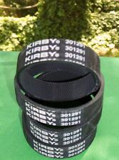 4 Kirby Vacuum Knurled Brush Roll Belts Part 301291 Fits all Kirbys since 1969