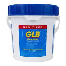 GLB 71220 Stabilized Granular Chlorine, Swimming Pool Water Sanitizer 8 lbs New