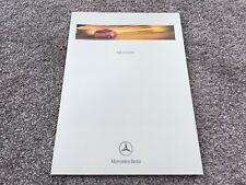 Mercedes-Benz A-Class UK Brochure 2000 - 11/99 issue