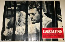 fotobusta originale L'ASSASSINO Marcello Mastroianni Elio Petri 1961 #7