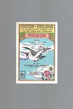 """Firecracker Label, Pigeon Brand 1 1/2"""" 16 Kwong Yuen Hangkee"""