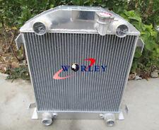 For FORD Model A W/FLATHEAD ENGINE 1928 1929 aluminum radiator new