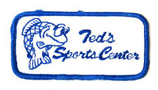 Ecusson peche Ted'S SportCenter  / Fishing patch