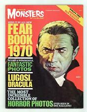 Famous Monsters of Filmland Yearbook/Fearbook 1970 FN 6.0