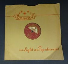 78 RPM Record: Dave Rose & His Orchestra: One Love/ Humoresque