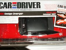 "ERTL/AUTO WORLD 1968 DODGE CHARGER RED/BLACK 1/18 ""CAR & DRIVER"" COVER CAR"