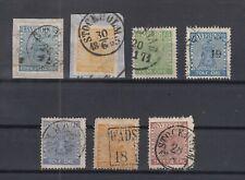 N3868/ SWEDEN – 1855 / 1870 USED CLASSIC LOT – CV 310 $
