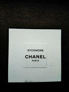 Chanel Sycomore Paris EDT New 4ml / 0.12fl.oz Sample, 100% Authentic BEST PRICE!