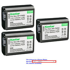 Kastar Replacement Battery for Sony NP-FW50 TRW & Sony ILCE-7M2 Alpha 7 II a7 II