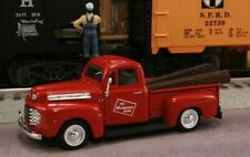 New 1/43 1948 FORD F-1 The Milwaukee Road Railroad with Two RR Ties